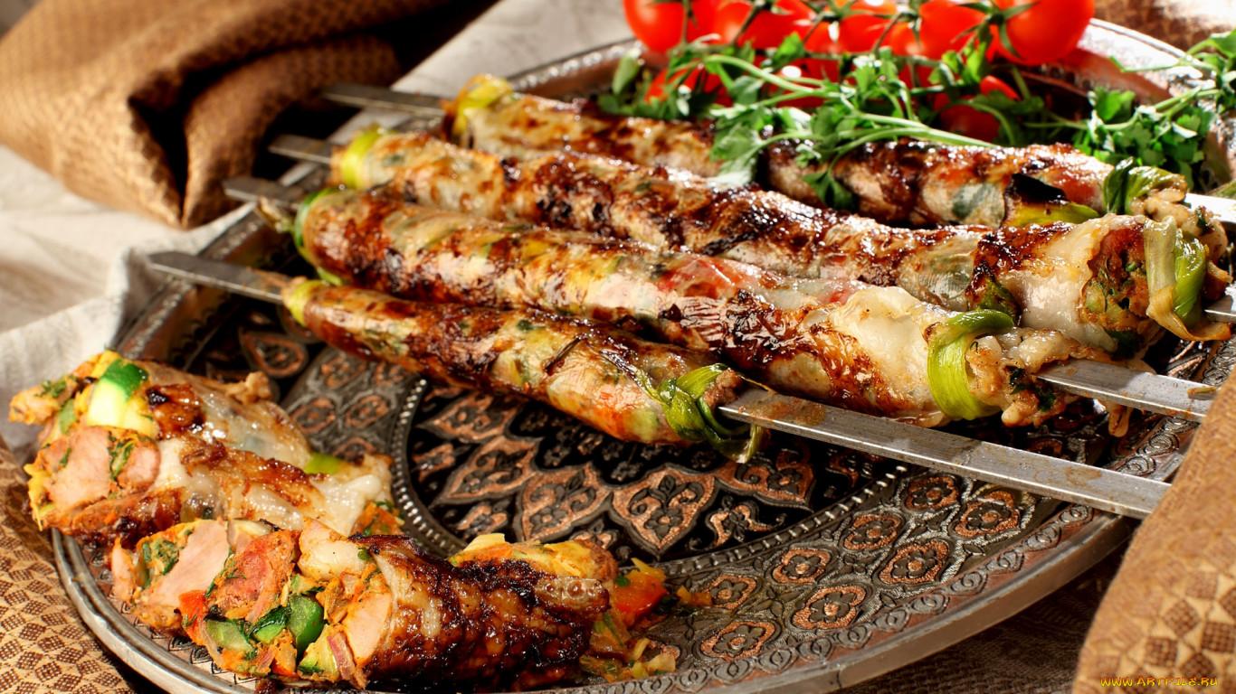 Кавказские блюда из мяса рецепты